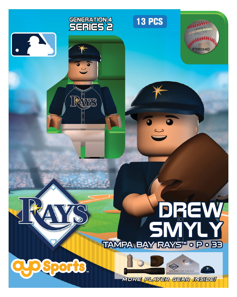 MLB - TBR - Tampa Bay Rays Drew Smyly Limited Edition 44693