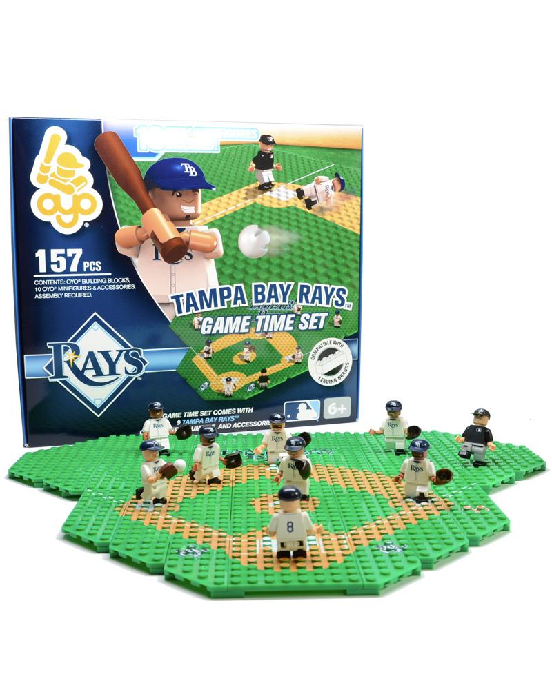 MLB TBR Tampa Bay Rays Baseball Gametime Set 1.5