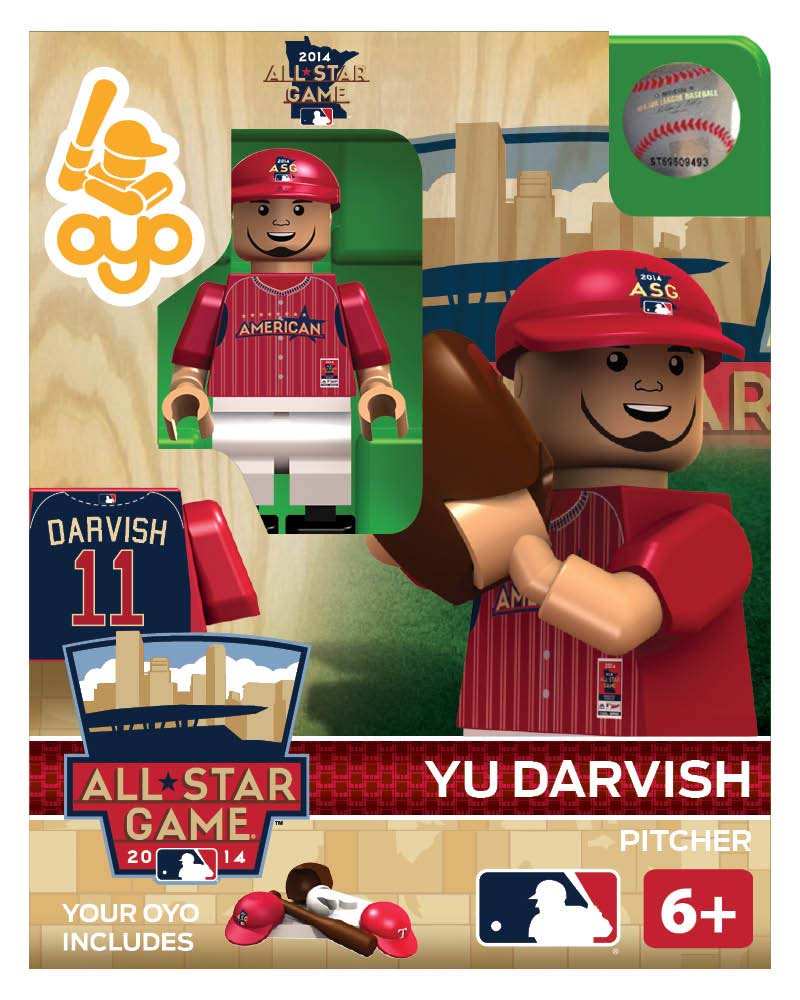 MLB - TEX - Texas Rangers Yu Darvish All Star Game 2014 Limited Edition