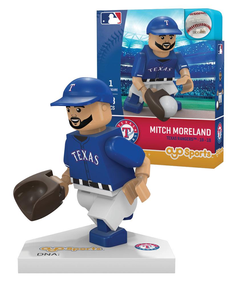 MLB TEX TexasÿRangers MITCH MORELAND Limited Edition