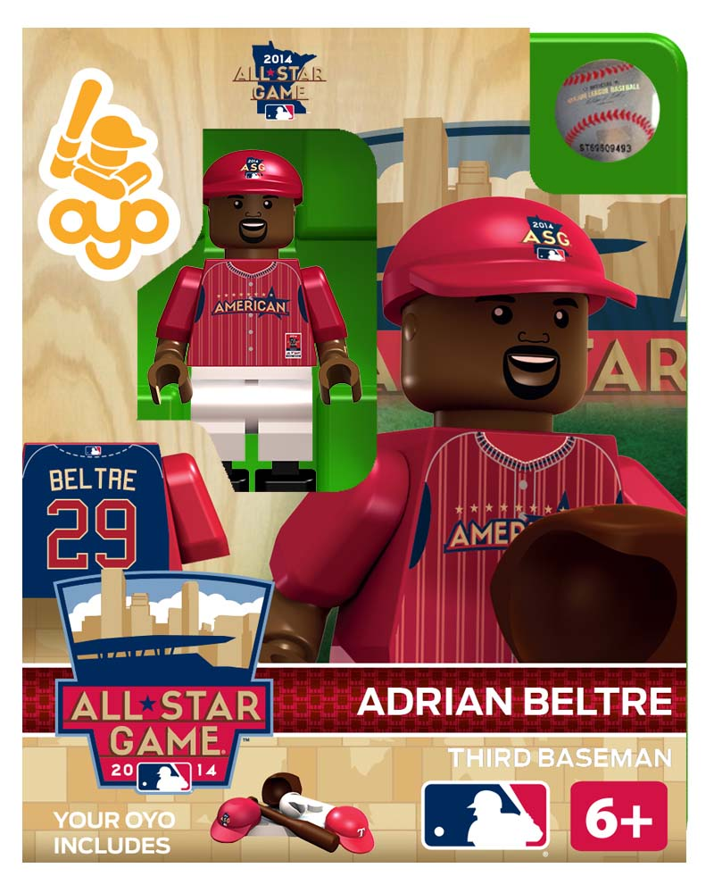 MLB - TEX - Texas Rangers Adrian Beltre All Star Game 2014 Limited Edition
