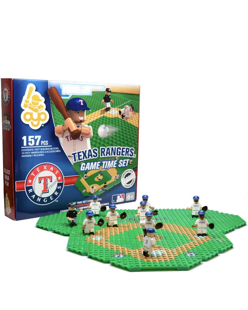 MLB TEX Texas Rangers Baseball Gametime Set 1.5