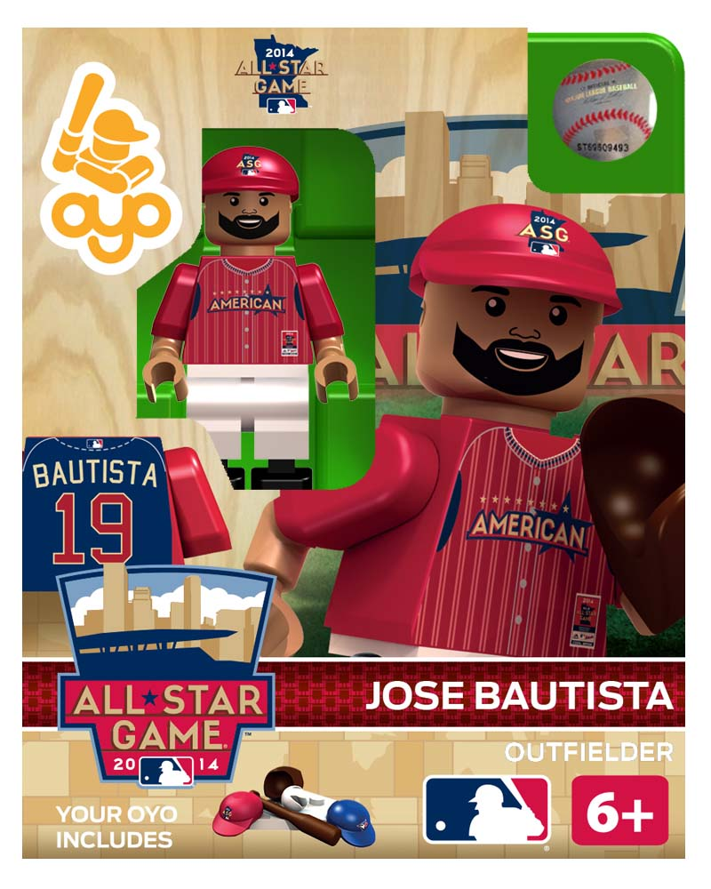 MLB - TOR - Toronto Blue Jays Jose Bautista All Star Game 2014 Limited Edition