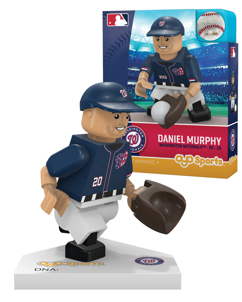 MLB WSN WashingtonÿNationals DANIEL MURPHY Home Uniform Limited Edition