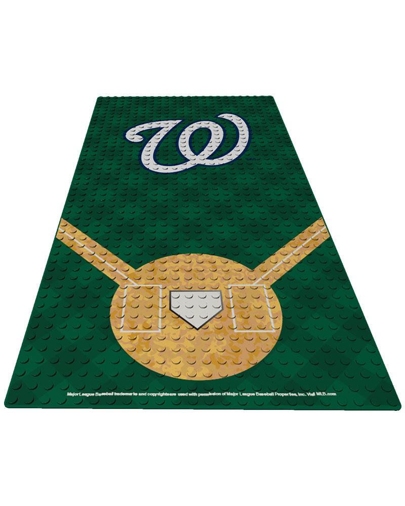 MLB WSN WashingtonÿNationals Generation Standard 1 24X48 DISPLAY BRICK