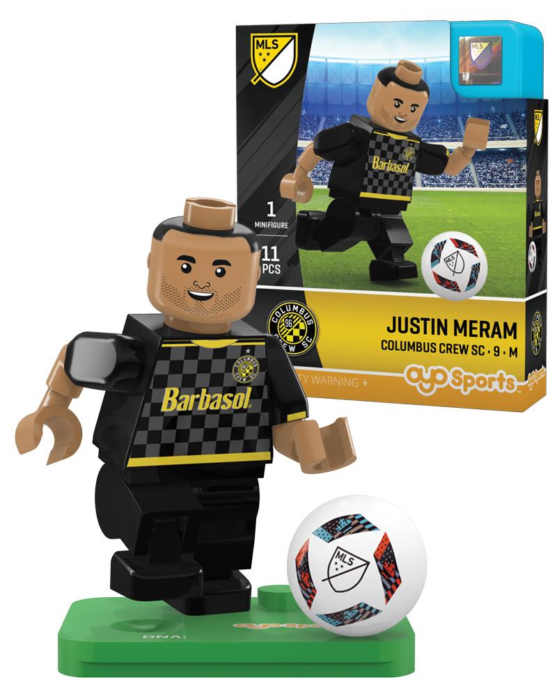 MLS CLB Columbus Crew SC JUSTIN MERAM Limited Edition