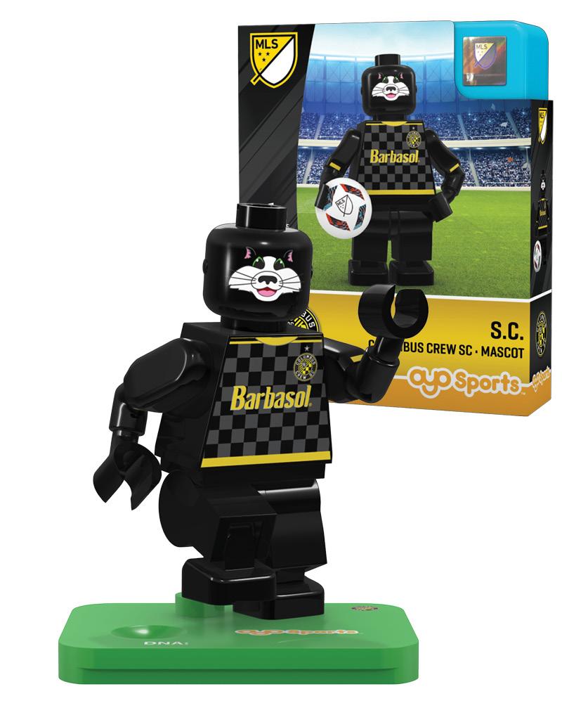 MLS CLB Columbus Crew SC Mascot Limited Edition