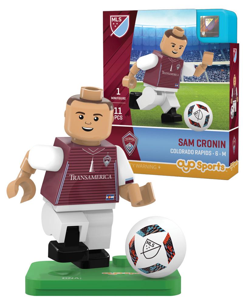 MLS COL Colorado Rapids SAM CRONIN Limited Edition