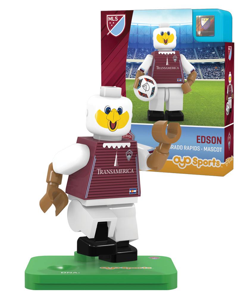 MLS COL Colorado Rapids Mascot Limited Edition