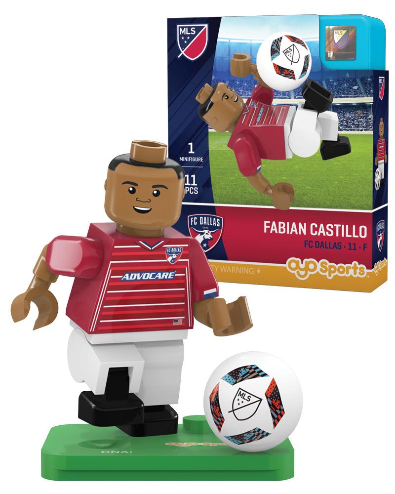 MLS DAL FC Dallas FABIAN CASTILLO Limited Edition