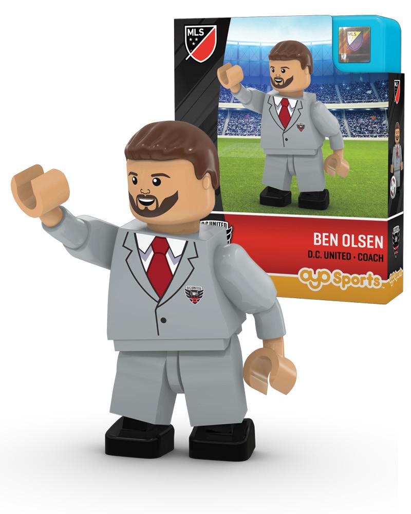 MLS DCU D.C. United BEN OLSEN Limited Edition