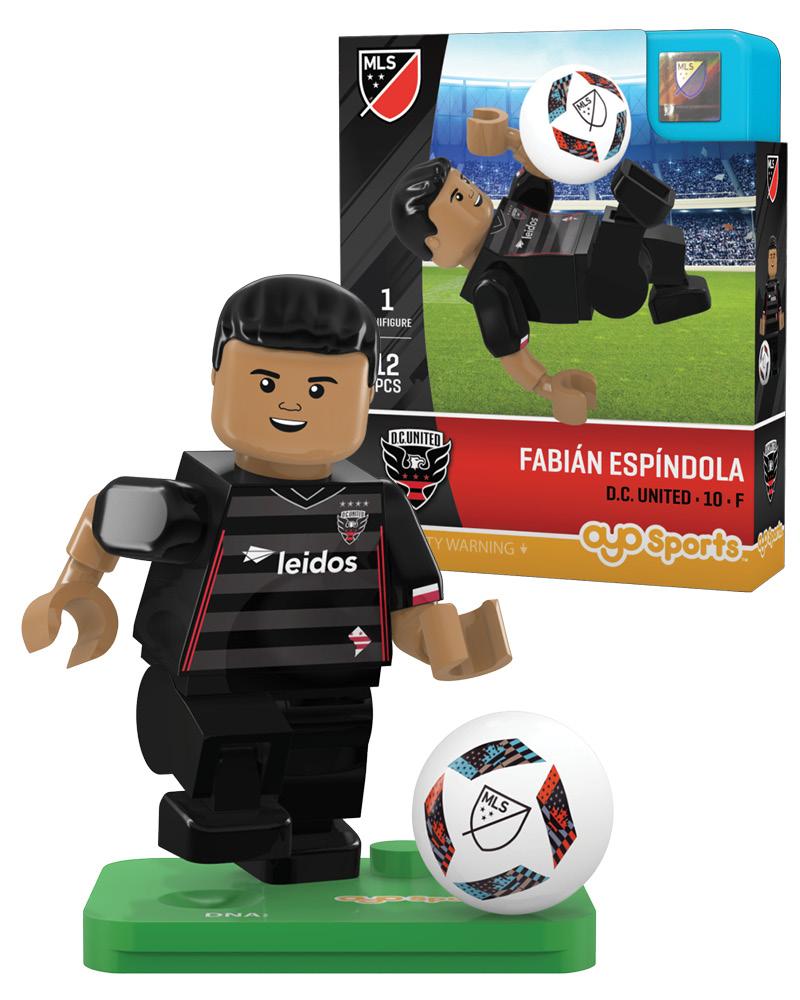 MLS DCU D.C. United FABIAN ESPINDOLA Limited Edition
