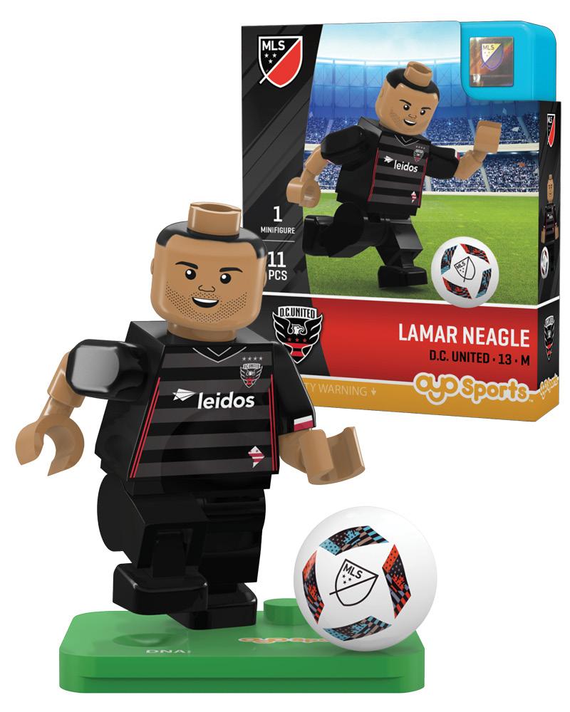 MLS DCU D.C. United LAMAR NEAGLE Limited Edition