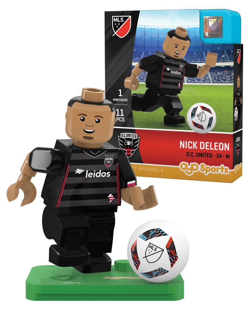 MLS DCU D.C. United NICK DELEON Limited Edition