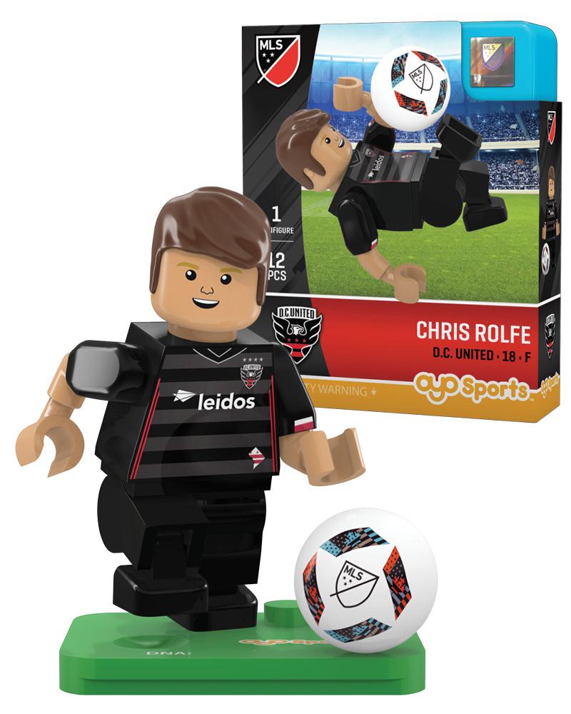 MLS DCU D.C. United CHRIS ROLFE Limited Edition