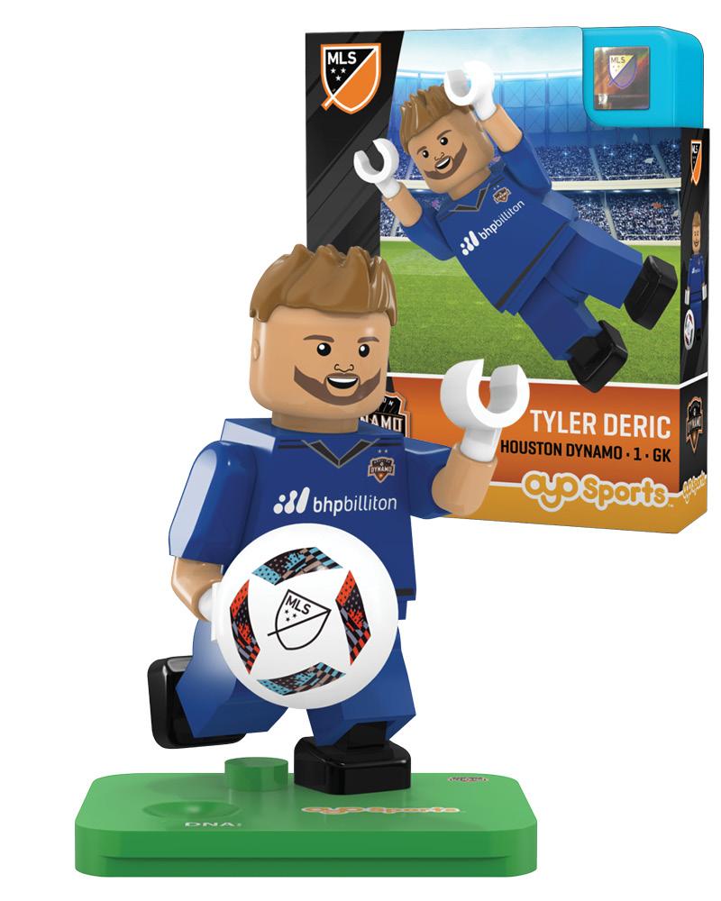 MLS HOU Houston Dynamo TYLER DERIC Limited Edition