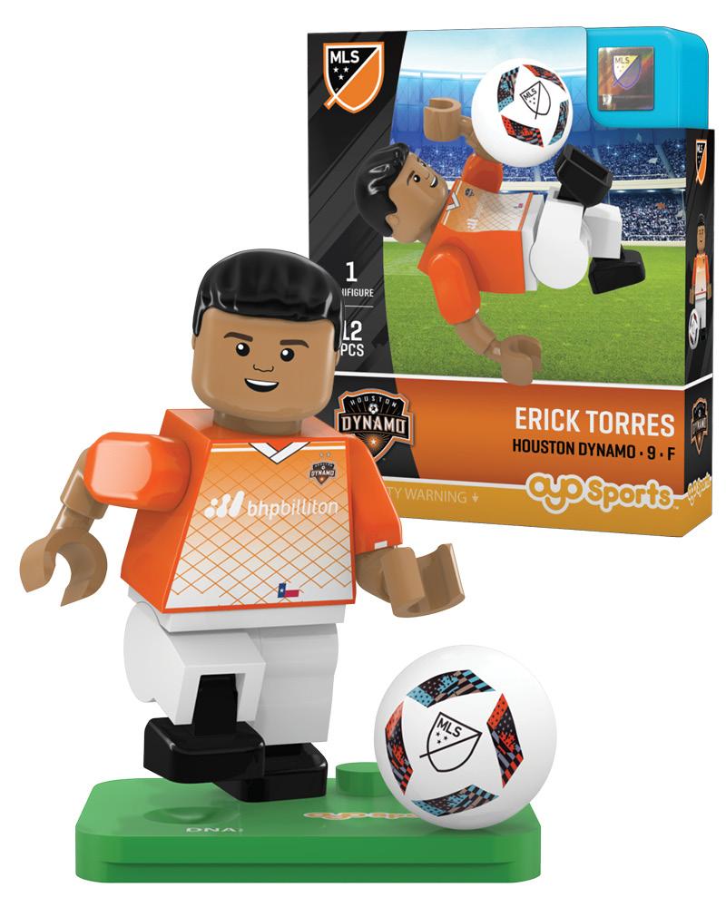 MLS HOU Houston Dynamo ERICK TORRES Limited Edition