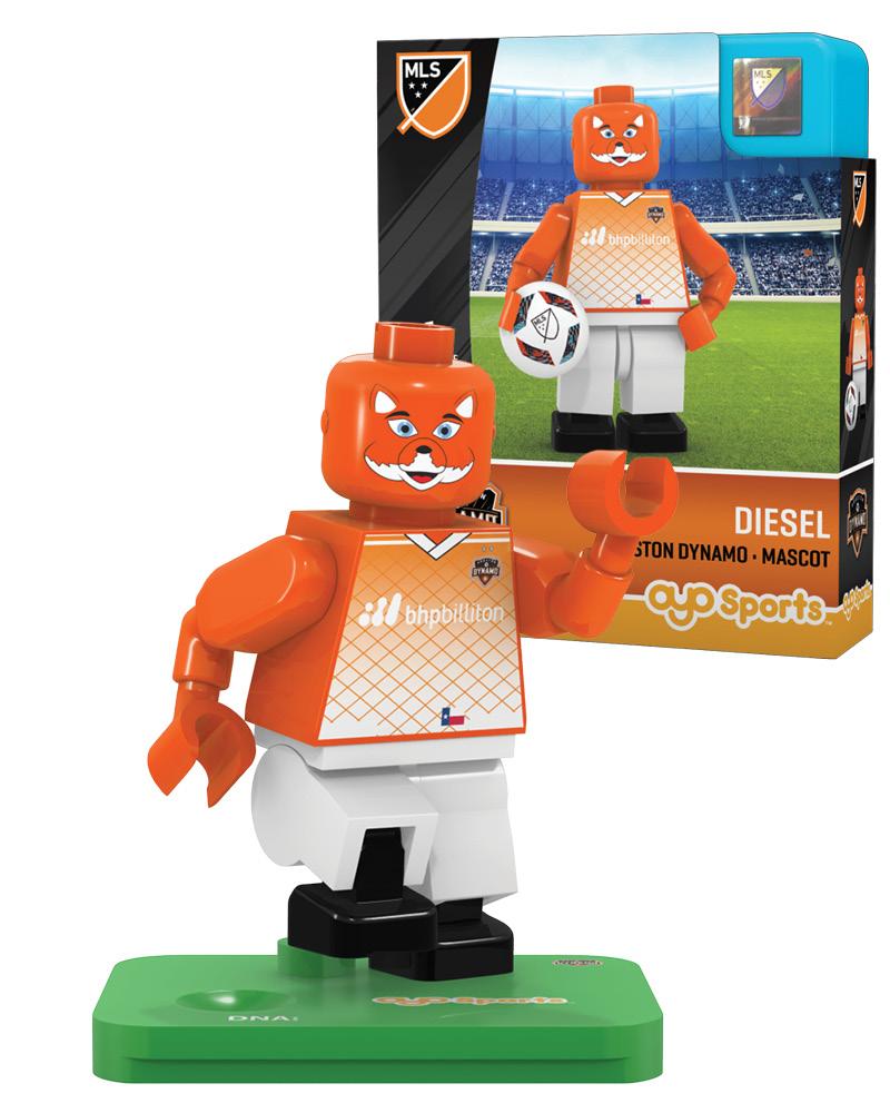 MLS HOU Houston Dynamo Mascot Limited Edition