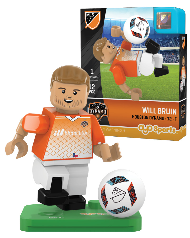 MLS HOU Houston Dynamo WILL BRUIN Limited Edition