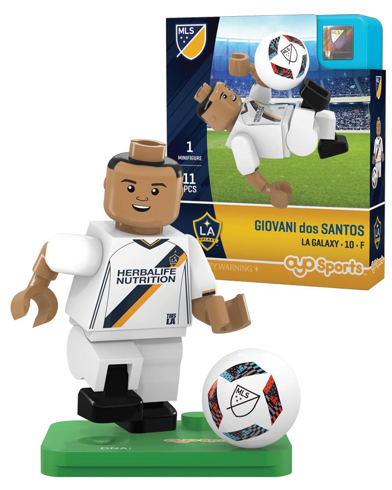 MLS LAG LA Galaxy GIOVANI dos SANTOS Limited Edition