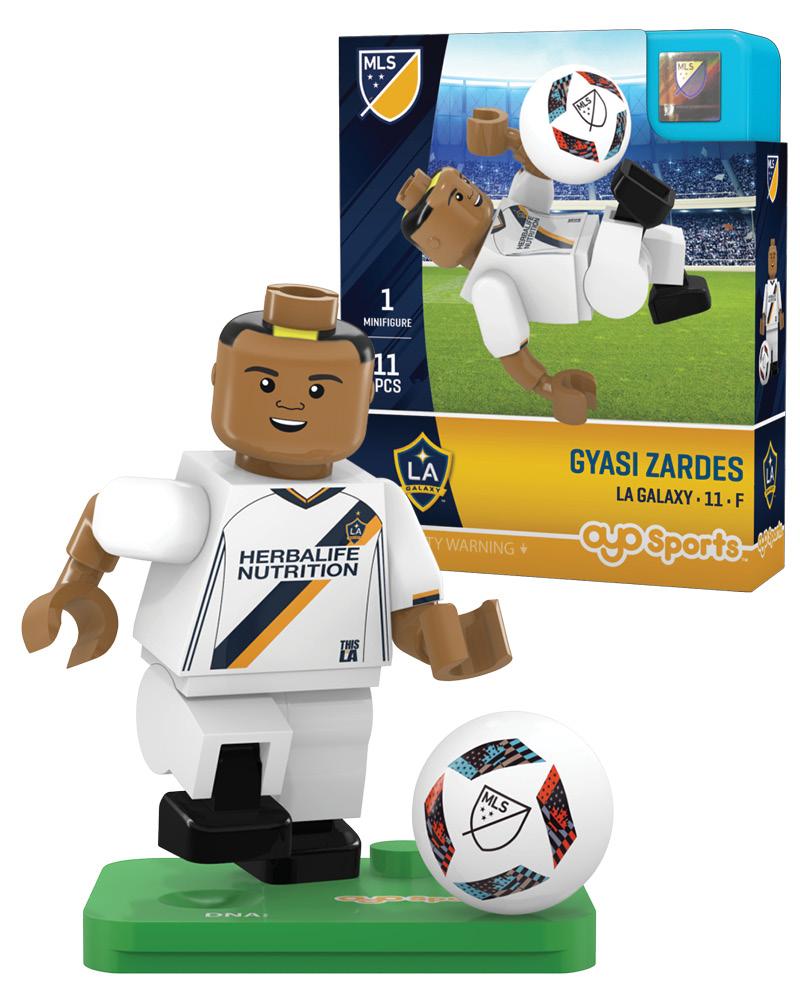 MLS LAG LA Galaxy GYASI ZARDES Limited Edition