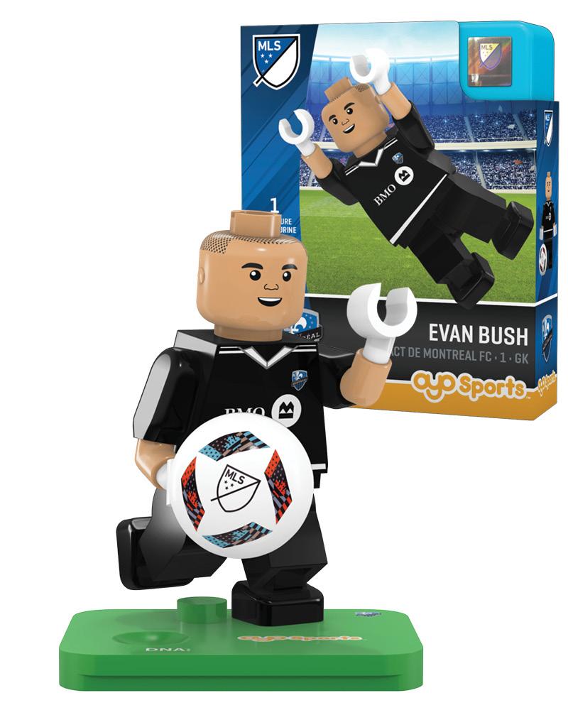 MLS MTL Impact de Montreal FC EVAN BUSH Limited Edition