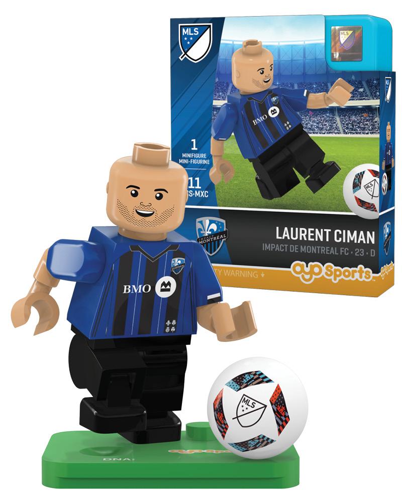 MLS MTL Impact de Montreal FC LAURENT CIMAN Limited Edition