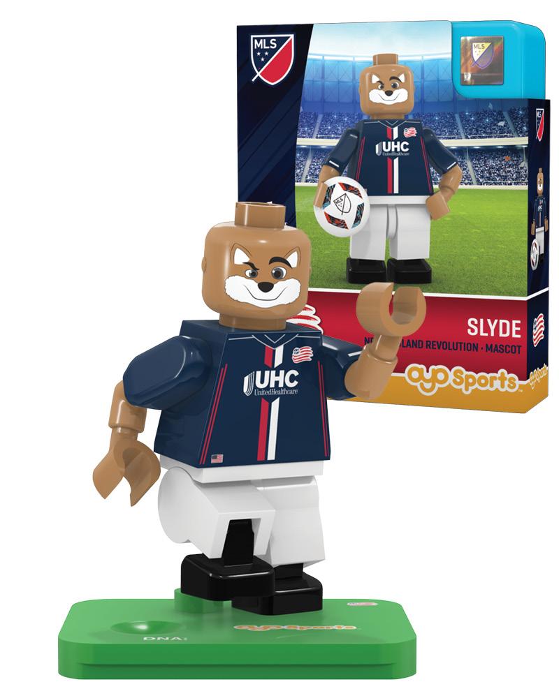 MLS NER New England Revolution Mascot Limited Edition