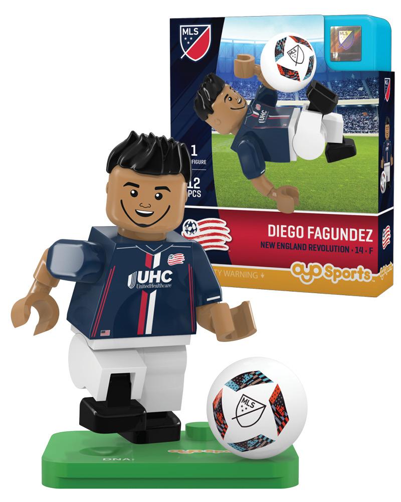 MLS NER New England Revolution DIEGO FAGUNDEZ Limited Edition