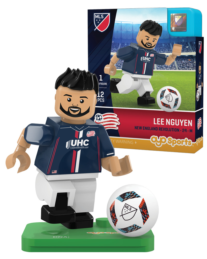 MLS NER New England Revolution LEE NGUYEN Limited Edition