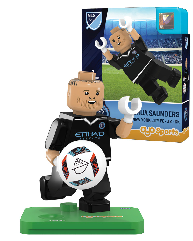 MLS NFC New York City FC JOSHUA SAUNDERS Limited Edition