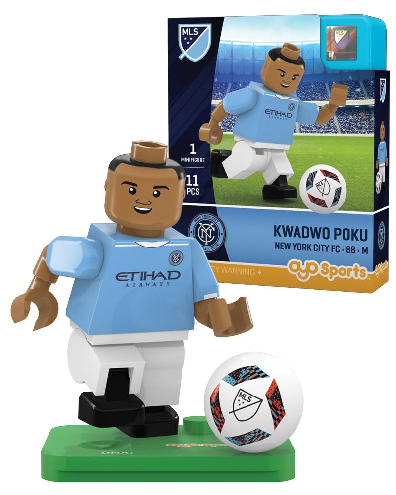 MLS NFC New York City FC KWADWO POKU Limited Edition