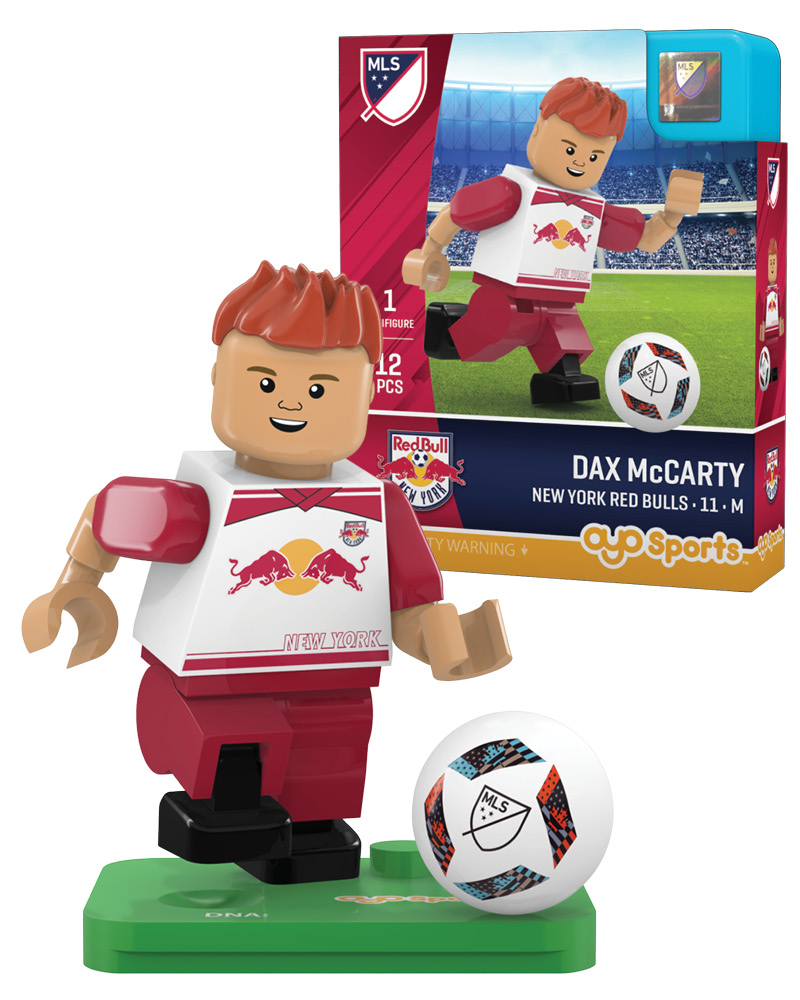 MLS NRB New York Red Bulls DAX McCARTY Limited Edition