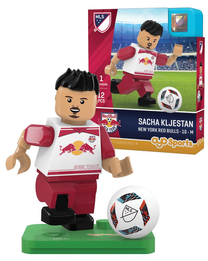MLS NRB New York Red Bulls SACHA KLJESTAN Limited Edition