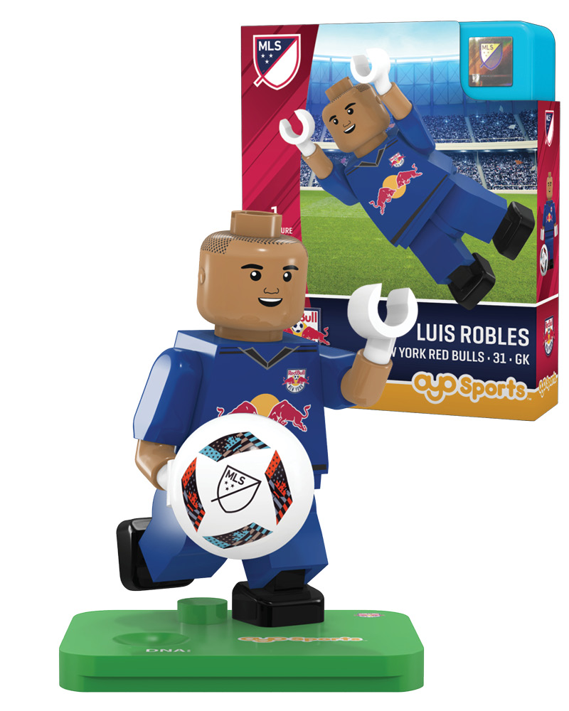 MLS NRB New York Red Bulls LUIS ROBLES Limited Edition