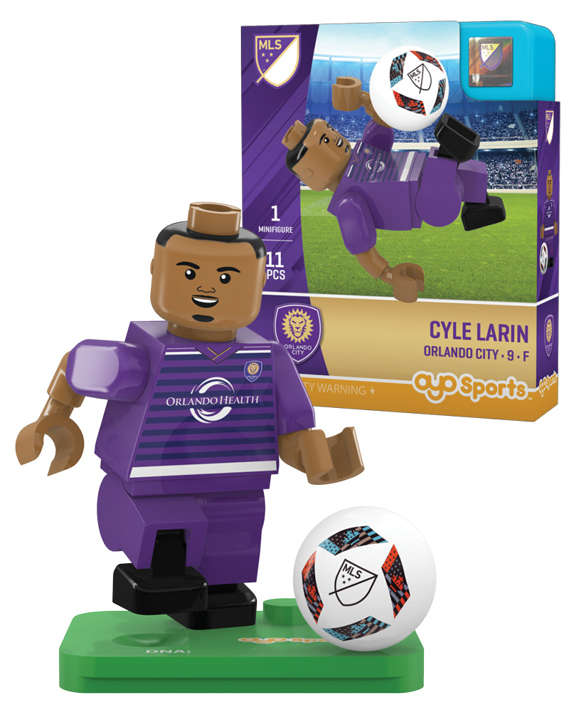 MLS ORL Orlando City CYLE LARIN Limited Edition
