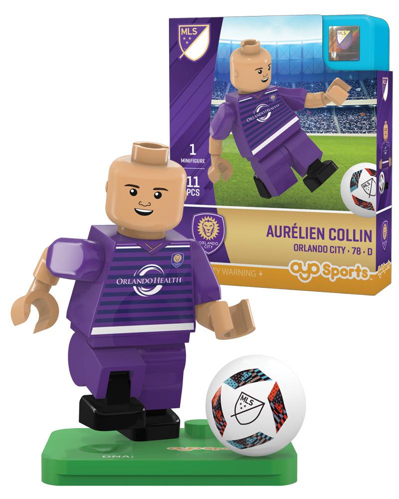 MLS ORL Orlando City AUR�LIEN COLLIN Limited Edition