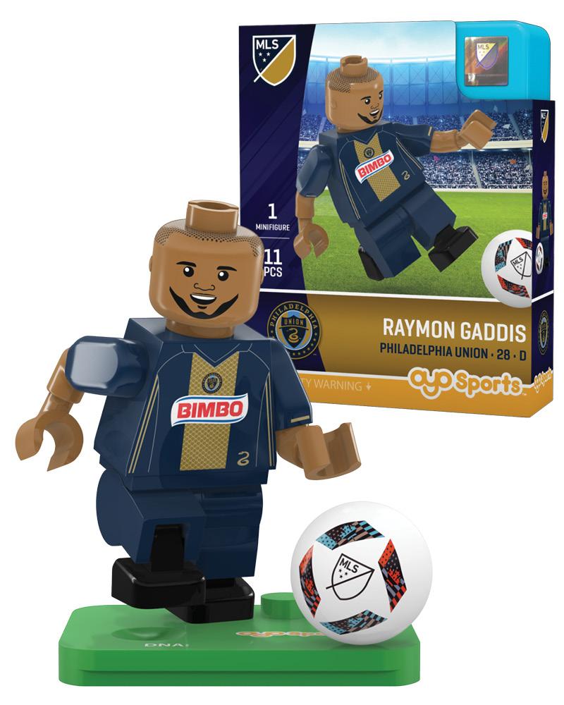 MLS PHI Philadelphia Union RAYMON GADDIS Limited Edition