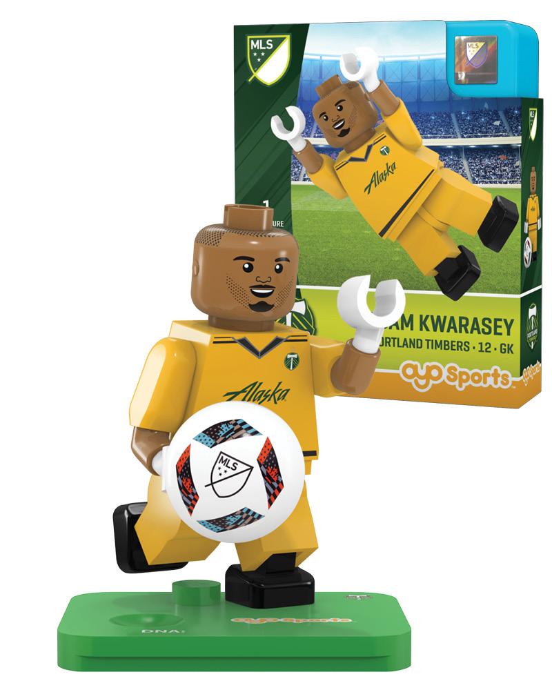 MLS POR Portland Timbers ADAM KWARASEY Limited Edition