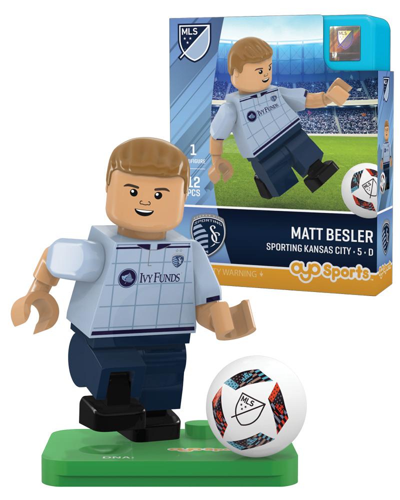 MLS SKC Sporting Kansas City MATT BESLER Limited Edition