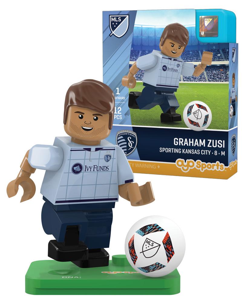MLS SKC Sporting Kansas City GRAHAM ZUSI Limited Edition