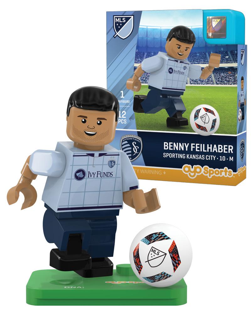 MLS SKC Sporting Kansas City BENNY FEILHABER Limited Edition