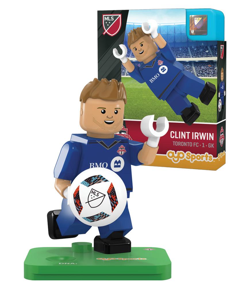MLS TOR Toronto FC CLINT IRWIN Limited Edition