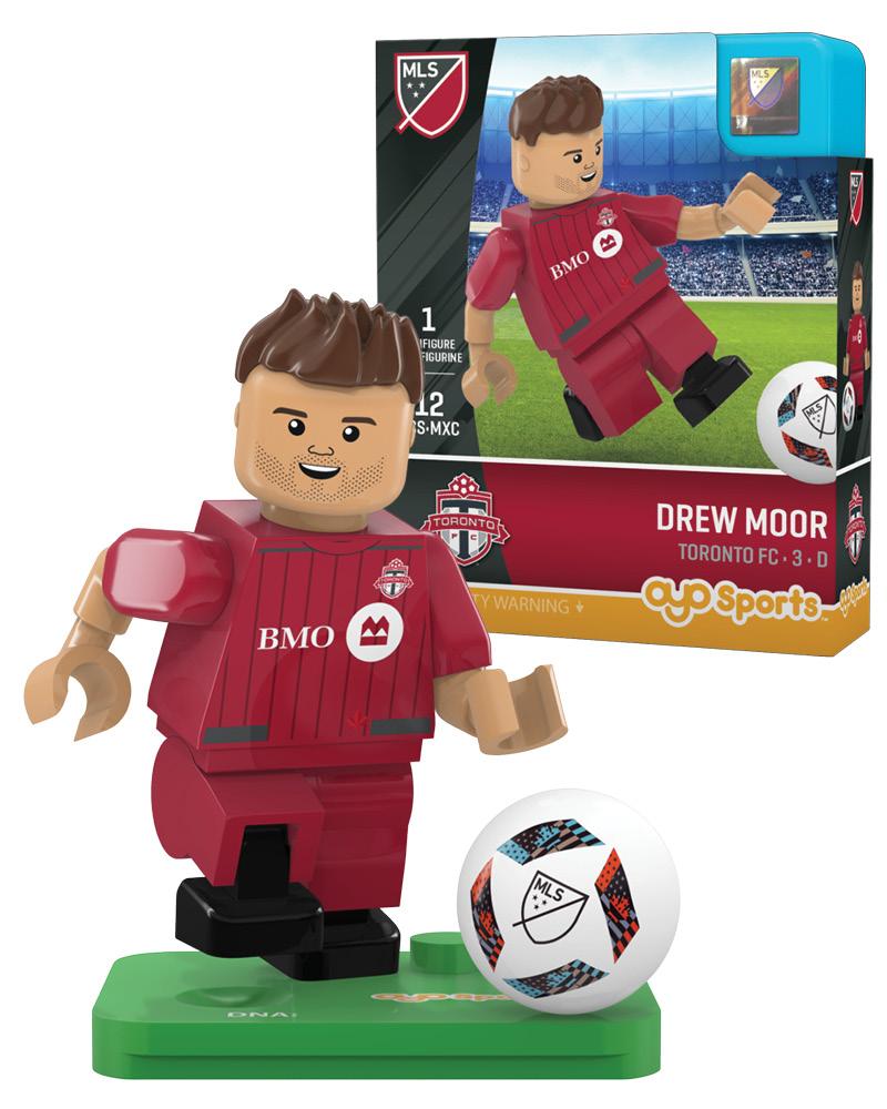 MLS TOR Toronto FC DREW MOOR Limited Edition