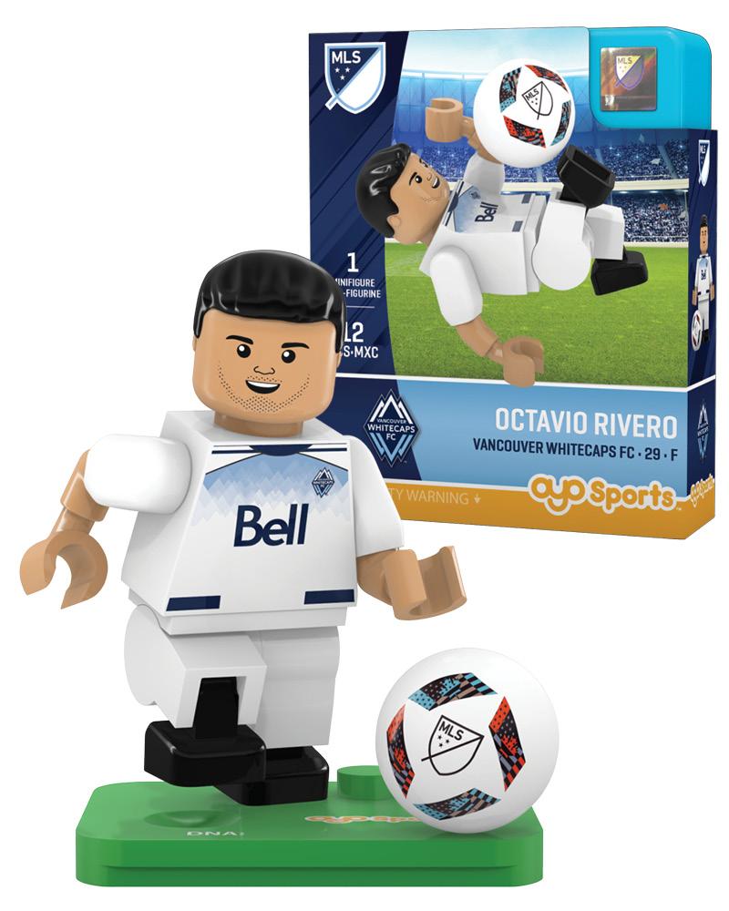MLS VAN Vancouver Whitecaps FC OCTAVIO RIVERO Limited Edition