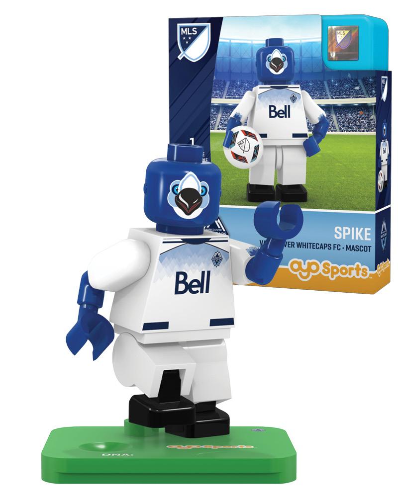 MLS VAN Vancouver Whitecaps FC Mascot Limited Edition
