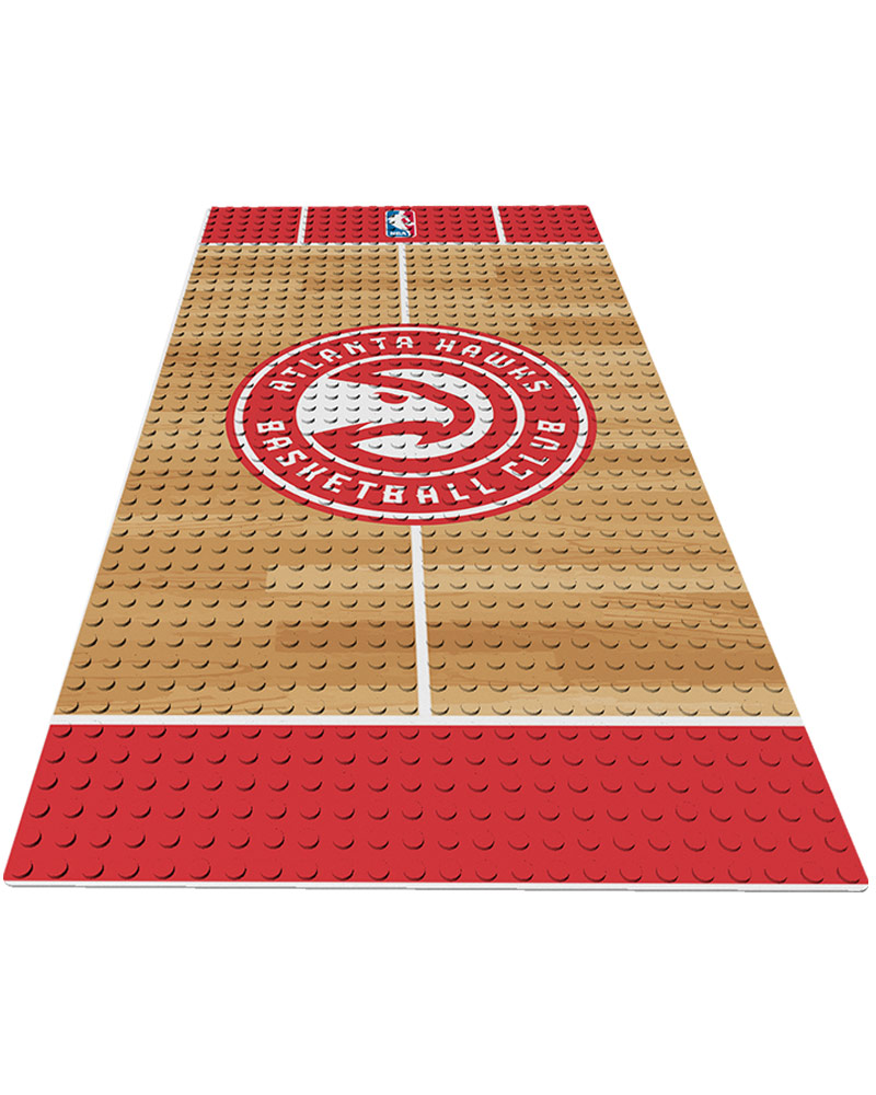 NBA ATL Atlanta Hawks 0 1 24X48 DISPLAY BRICK