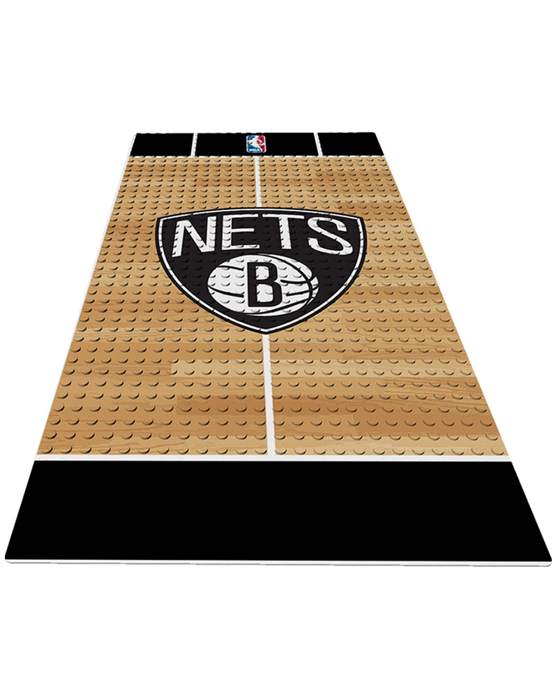 NBA BKN Brooklyn Nets 0 1 24X48 DISPLAY BRICK