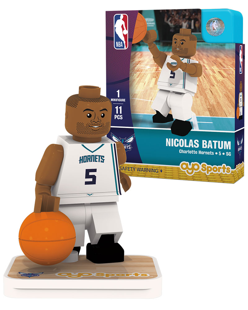 NBA CHA Charlotte Hornets NICOLAS BATUM Home Uniform Limited Edition