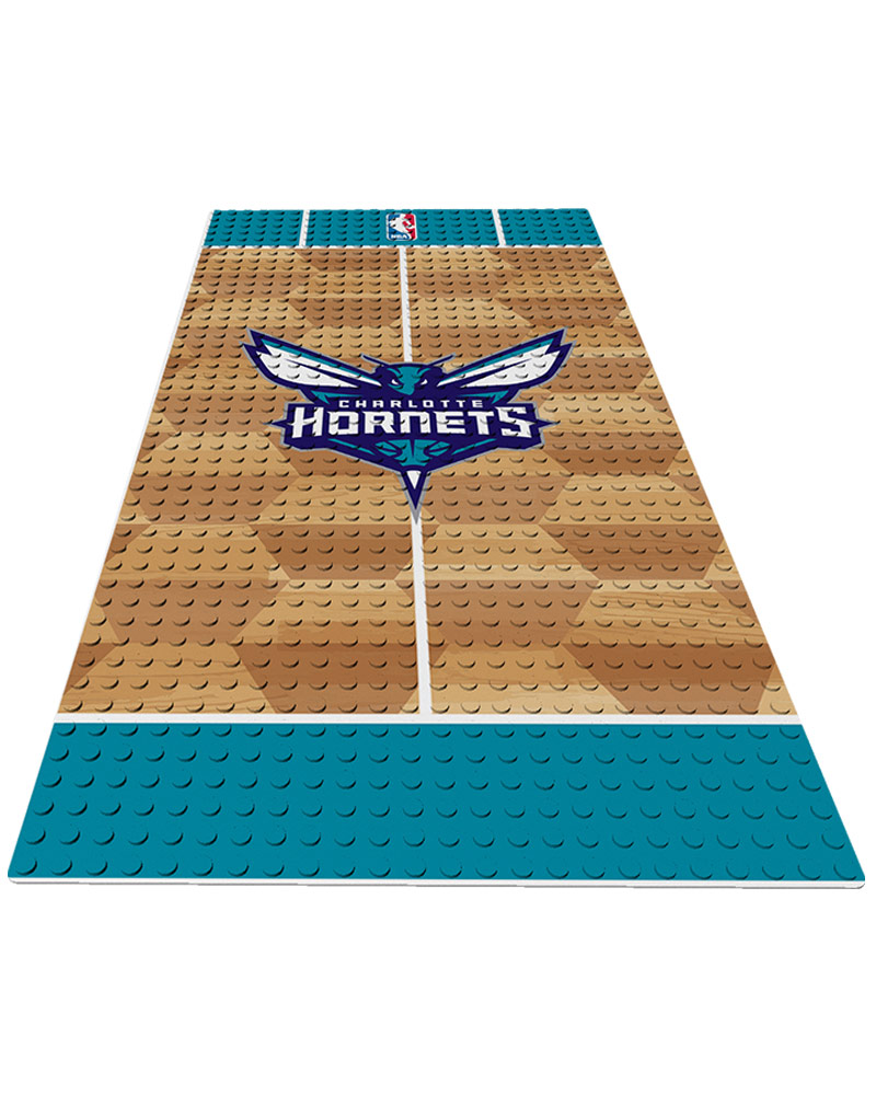 NBA CHA Charlotte Hornets 0 1 24X48 DISPLAY BRICK